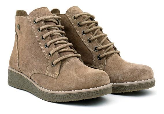 Citadina Zapatos Botineta Cuero Gamuza Precio Fabrica Crista
