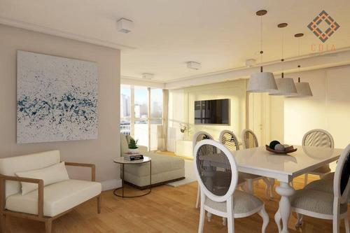 Apartamento Com 3 Dormitórios À Venda, 142 M² Por R$ 1.740.000,00 - Pinheiros - São Paulo/sp - Ap44808