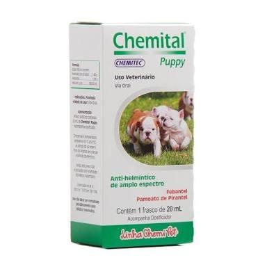 Chemital Puppy Filhotes 2 Unidades 20ml Veterinario