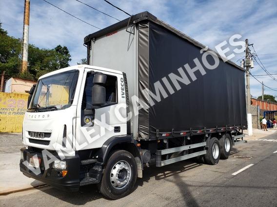 Iveco Tector 240e22 Trucado 6x2 Bau Sider Ñ 24250 Atego 2426