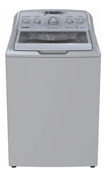 Lavadora Automática 22 Kilos Plata Mabe - Lmh72205wgab0