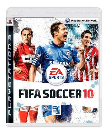 Fifa Soccer 10 Ps3 - Mídia Física - A Pronta Entrega
