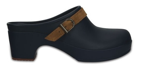 Zapato Crocs Dama Sarah Clog Azul Marino