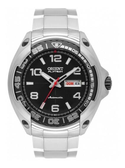 Relógio Orient Masculino Flytech Automático 469ti005 Titanio