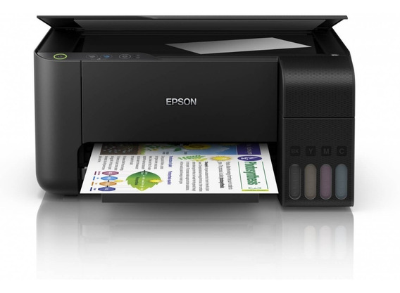 Multifuncional Epson L3110 + Bulk + 400ml Tinta Sublimática