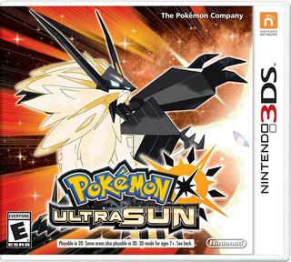 Pokemon Ultra Sun Nintendo 3ds 2ds Ultrasol Sellado + Regalo