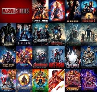 Colección Marvel Cinematic Universe 22 Peliculas Hd Esp. Lat