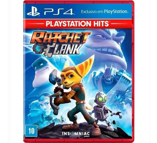 Imagem 1 de 4 de Jogo Ratchet And Clank Hits - Ps4