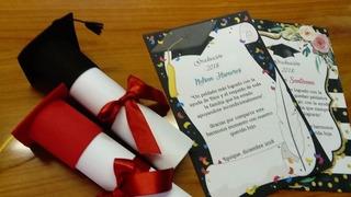Modelos De Tarjetas De Invitacion Para Graduacion