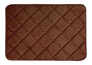 Tapete Baño Memory Foam Soft Chocolate Vianney