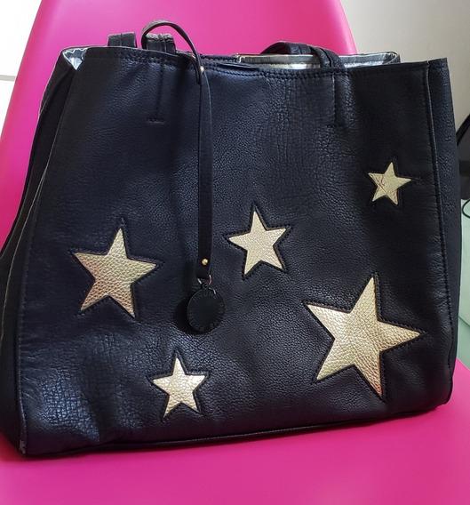 Bolso Prüne Con Apliques De Estrellas