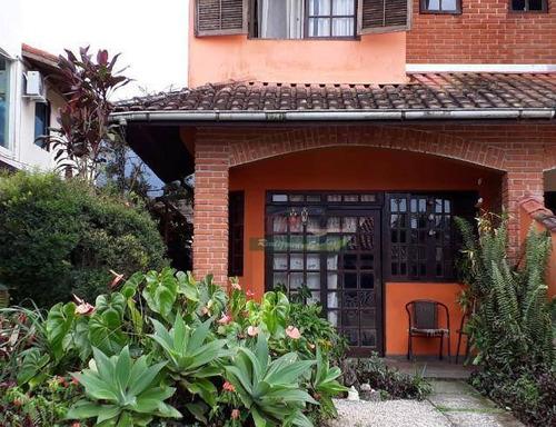 Imagem 1 de 17 de Sobrado Com 3 Dormitórios À Venda Por R$ 550.000,00 - Chácaras Mogiano - Bertioga/sp - So2155