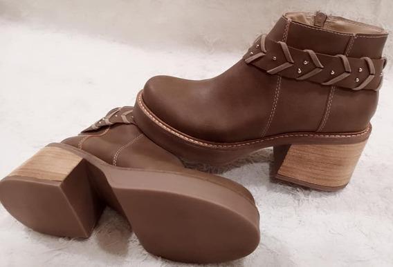 Botas Mujer Zapatos Texanas Botinetas Plataforma