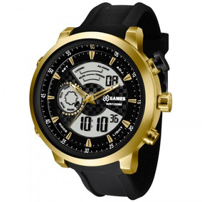 Relógio Xgames Xmspa018 P2px Masculino Preto Dour - Refinado