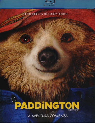 Paddington La Aventura Comienza Pelicula Blu-ray