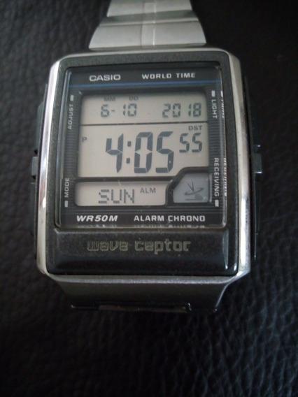 Reloj Casio Wave Captor Wv-59a World Time