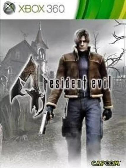 Resident Evil 4 Xbox 360 Mídia Digital