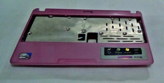 Carcaça Inferior E Do Touch Cce Winbook Nr23s - Rosa
