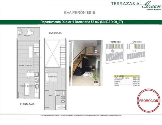 Departamento 1 Dormitorio - Promoción - Terrazas Al Green