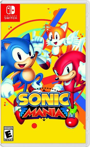 Sonic Mania - Switch Lacrado