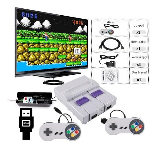 Consola Retro Hdmi 821 Juegos Family Y Nintendo 2 Controles
