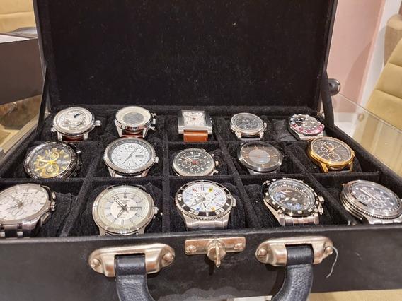 Conjunto De Relógios Para Colecionadores 15 Modelos.