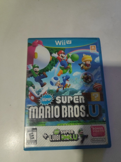 New Super Mario Bros U + Luigi U. Midia Física. Americano!