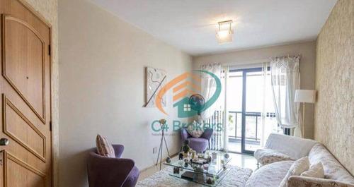 Imagem 1 de 20 de Apartamento Com 3 Dormitórios À Venda, 100 M² Por R$ 790.000,00 - Anália Franco - São Paulo/sp - Ap4289
