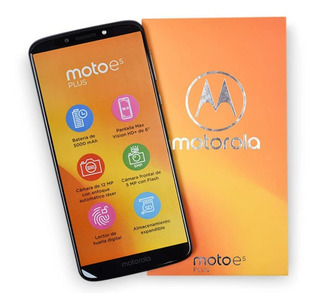 Teléfono Moto E5 Plus .Pantalla 6 .32g . Nuevos