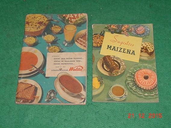 * Manual Do Liquidificador Walita + Sugestões Maizena *