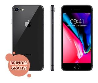 iPhone 8 64gb (brindes) 2799 À Vista Lacrado Nf E Garantia