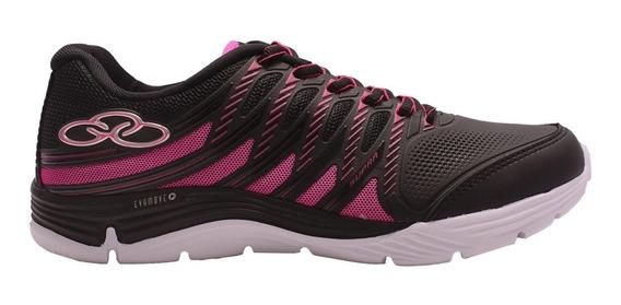 Zapatillas Olympikus Supra Preto C/pink Mujer