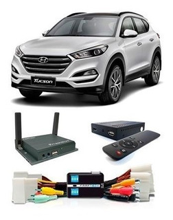 Desbloqueio Tela New Tucson + Tv Hd + Videos + Espelhamento