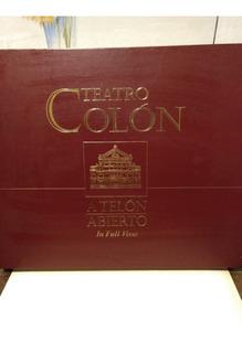 Teatro Colón - A Telón Abierto + Cd -