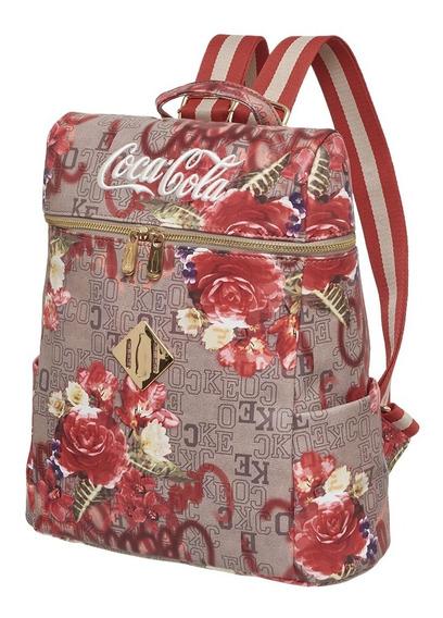 Bolsa Mochila Feminina Coca Cola Monograma 7118805 Oficial