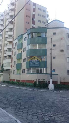 Apto 1 Dorm, Guilhermina Praia Grande - R$ 170 Mil - Vact1448