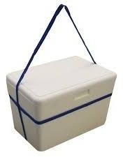 Caixa Isopor Térmica De 35 Litros Isoterm Com Alça