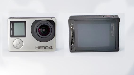 Gopro Hero 4 Silver + Porta Sd + Acessórios