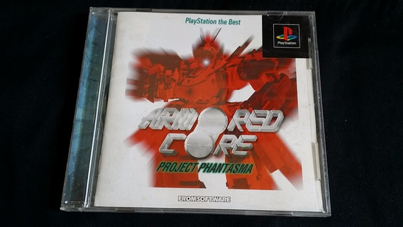 Armored Core Project Phantasma Original Playstation One Ps1