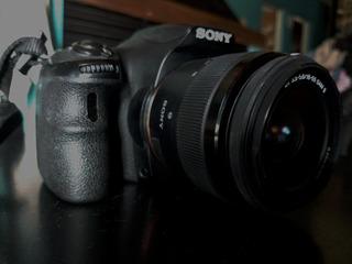 Cámara Digital Slr Sony Alpha 58 Lente 58-18mm