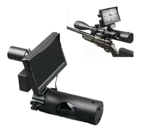 Kit Visao Noturna 250m Promoção Riflescope Caça Pesca Lcd 5