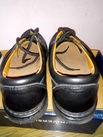 Zapatos Cuero Talle 42 Hombre