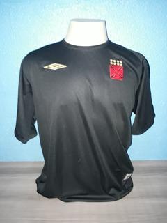 Camisa Vasco Umbro Preta Com Etiquetas