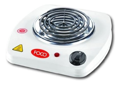 Cocina Anafe Electrico 1 Hornalla Foco Con Fucible Termico