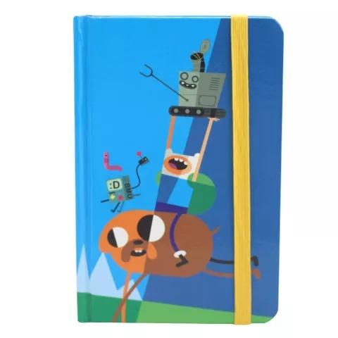 Caderno De Anotações Moleskines Finn E Jake Amigos
