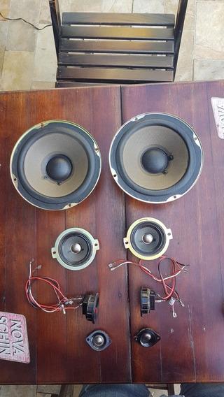 Kit Completo Para Caixa De Som Sony Ss-d555 8 Peças