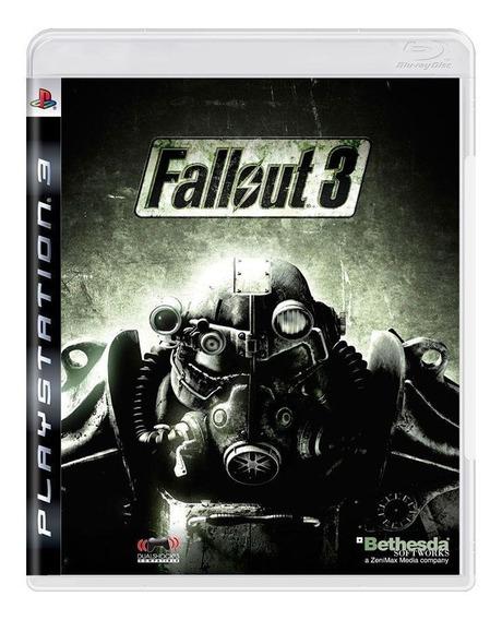 Fallout 3 Ps3 Mídia Física Pronta Entrega