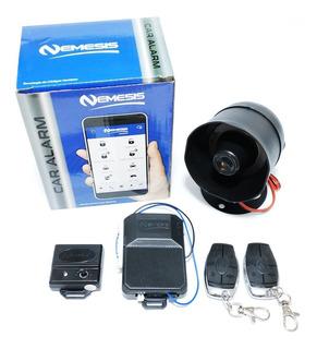 Alarma Nemesis Y Bloqueo Central 4 Puertas Kit Completo