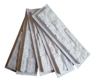 4 Moldes Abs Piedra Pared Concreto Yeso Fachada Cultivada 3d