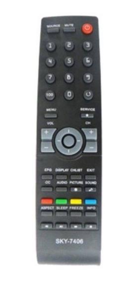 Controle Remoto Tv Aoc Le32w157 Universal Aoc